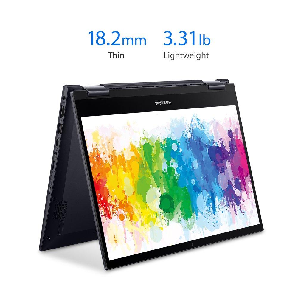 "ASUS 14"" Ryzen 5 2-in-1 8GB/256GB Laptop - Black"
