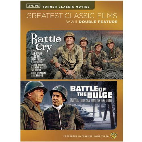 WWII Double Feature: Turner Classic Movies: Battle Cry / Battle Of The Bulge