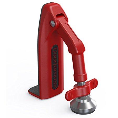 DoorJammer Portable Door Lock Brace for Home Security and Personal