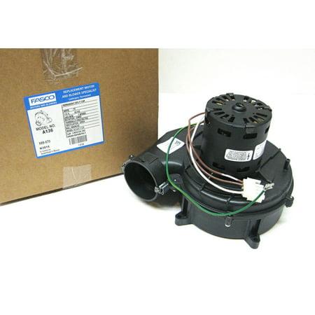 Bryant Inducer Motor (A-136 Fasco Inducer Blower Motor fits Rheem 7062-3861 70-24033-01)