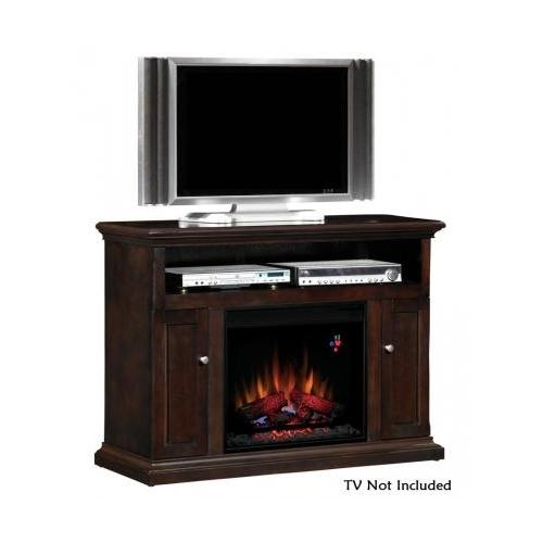 Classic Flame 23MM378-E451 Cannes Electric Fireplace Media Cabinet with 3-Way Adjustable Concealed Euro Hinges by Classic Flame