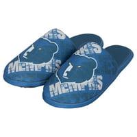 Memphis Grizzlies Digital Print Slippers - Light Blue