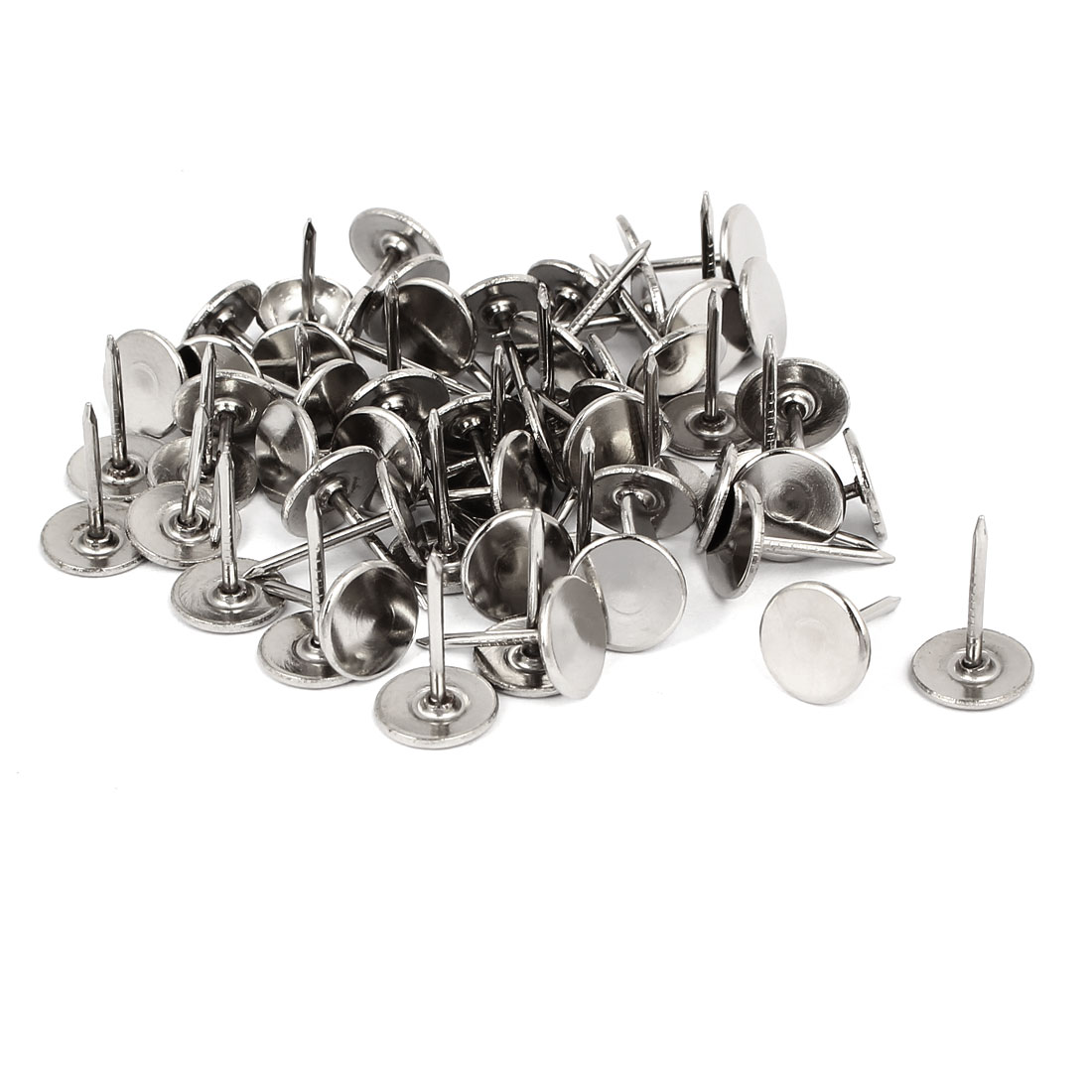 "7/16"" Dia Upholstery Nail Decorative Tack Stud Push Pin Thumbtack 60PCS"