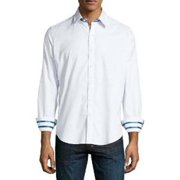 Robert Graham XF141000TF Central Long Sleeve Shirt 3XL White