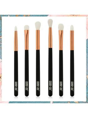 YLSHRF 2 Colors 6Pcs/set Eye Makeup Brush Set Eyeshadow Eyebrow Cosmetic Tool, Eye Brush Set, Eyebrow Brush