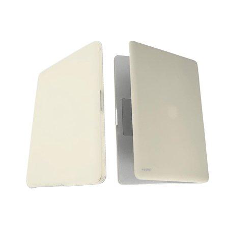 Incipio Feather Ultralight Hard Shell Case for MacBook Pro 13-inch White Unibody - Pearl White