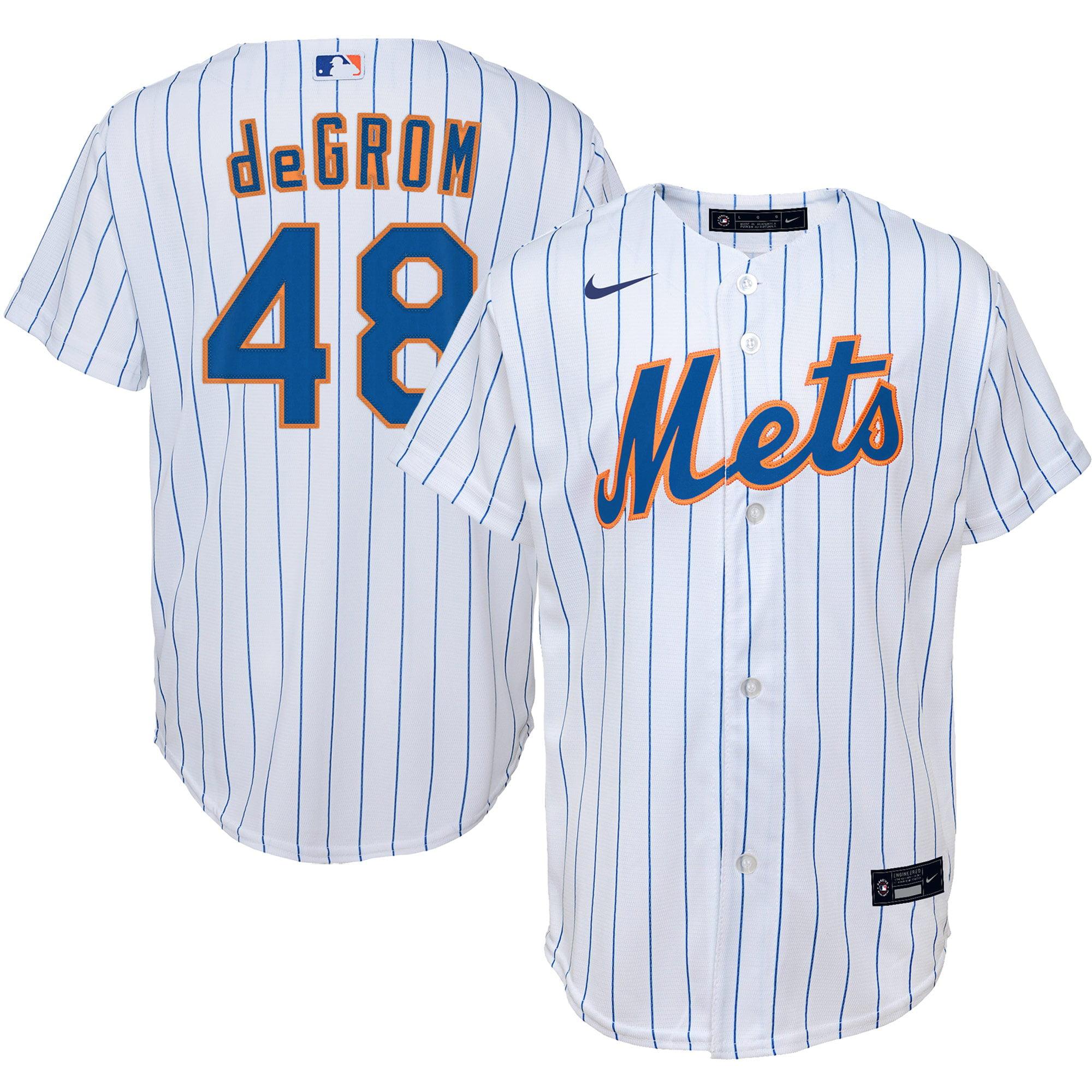 Jacob deGrom New York Mets Nike Youth Home Replica Player Jersey - White - Walmart.com