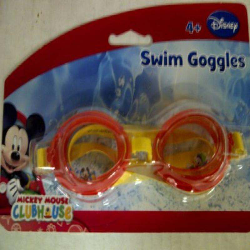 DISNEY MICKEY MOUSE GOGGLES Mickey Mouse Club House Swim Goggles