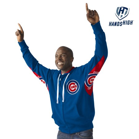G-III Chicago Cubs Hands High Victory Mens Hoodie, X-Large by