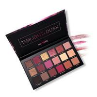 Tuscom 18 Color Pearl Glitter Eye Shadow Powder Palette Matt Eyeshadow Cosmetic Makeup