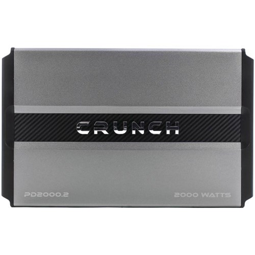 Crunch Power Drive PD2000.2 Bridgeable Amplifier 2,000 Watts Max Class Ab 2-Channel PD2000.2 Bridgeable Amplifier