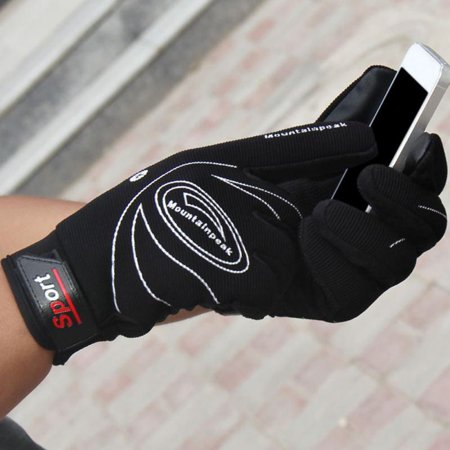 CHLTRA Cycling Glove Touchscreen Bicycle Full Finger Gloves Mountain Bike Road Racing Anti-Skid Gel Pad Riding Work Gloves