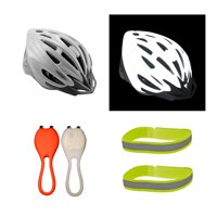 Cycle Force High Visibility Bundle for Biking, Large (56 - 60 cm)
