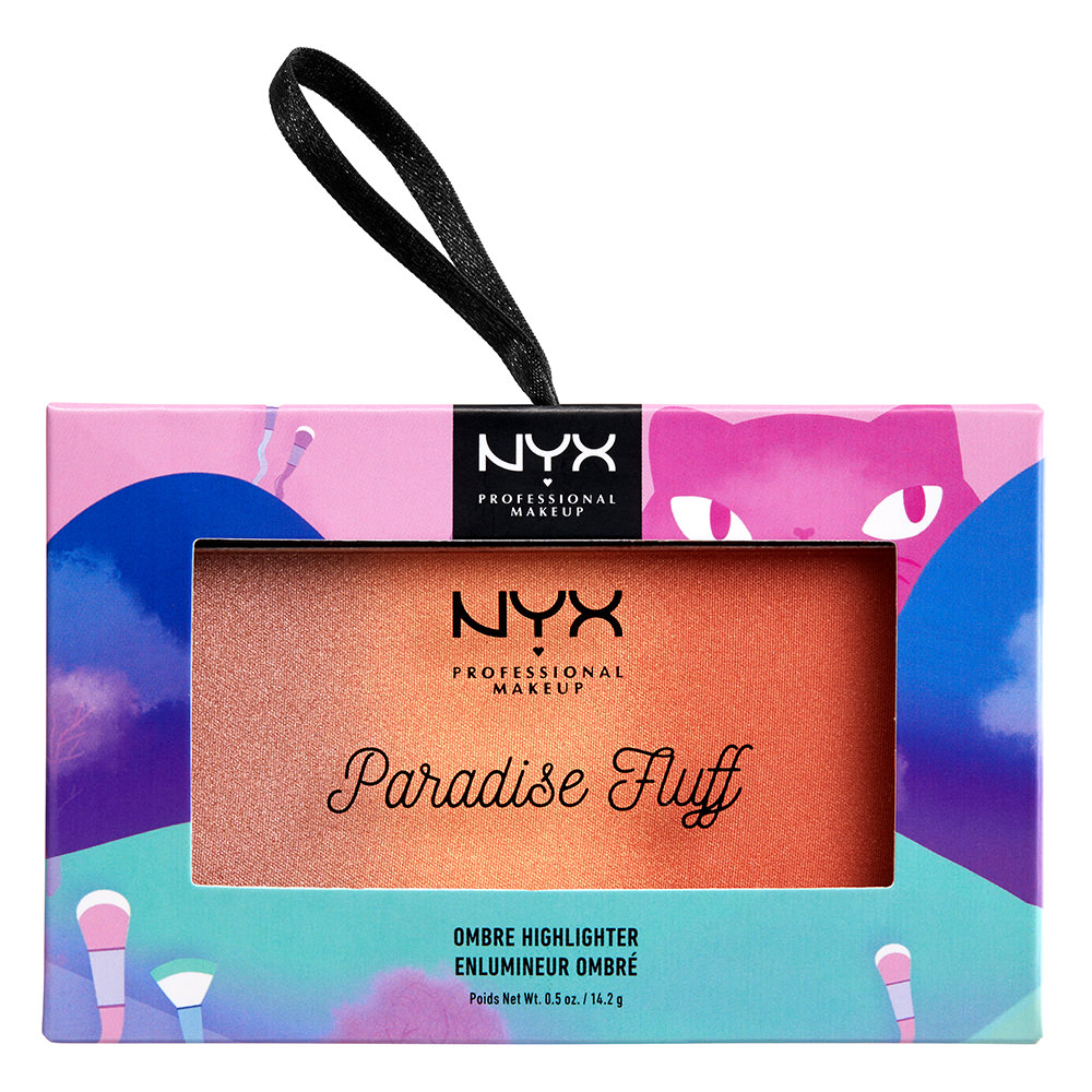 NYX Professional Makeup Limited-Edition Paradise Fluff Ombre Highlighter, Sweet Custard