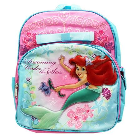 Disney's The Little Mermaid Ariel Dreaming Under the Sea Small Backpack (12in)](Little Mermaid Backpack)