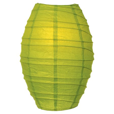 Cocoon Premium Paper Lantern Lamp Shade (10-Inch, Chartreuse Green) - For Home Decor, Parties, and Weddings ()