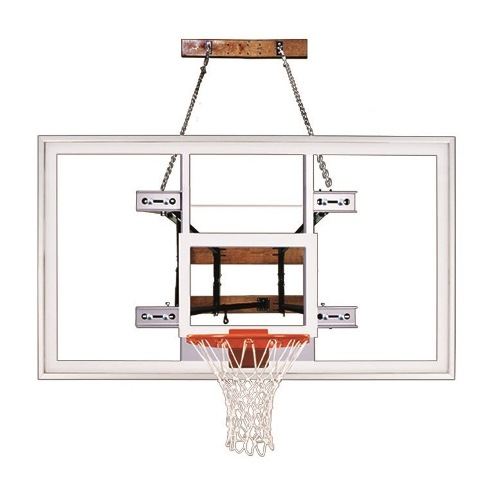 First Team Wall Mount Basketball System - FoldaMount 82 Supreme