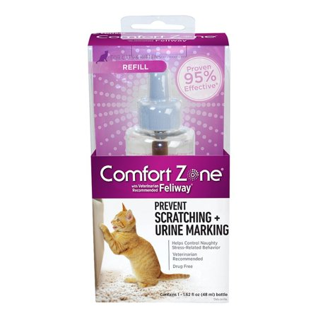 with Feliway for Cats Diffuser Refill, 48 Milliliters, 1-PackContains 1 48 mL refill By Comfort
