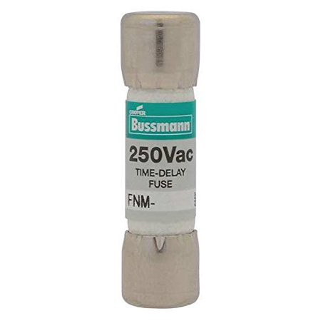 BUSSMANN FNM-35 - 35 Amp Fusetron Time-Delay Supplementary Cartridge Fuse 32V Ul Listed (Pack of 1)