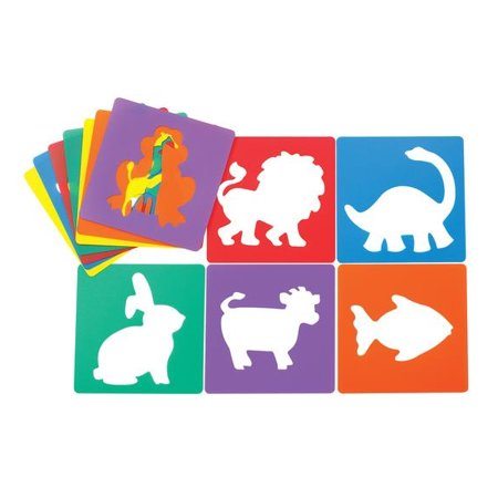 Colorations Animal Shape Stencils, 8