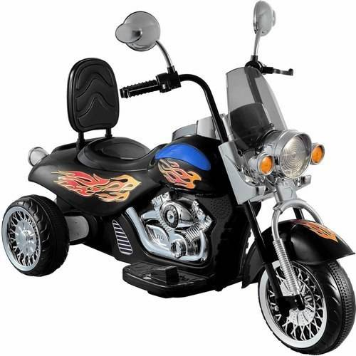 National Products Limited Kid Motorz 6V Motorbike In Black