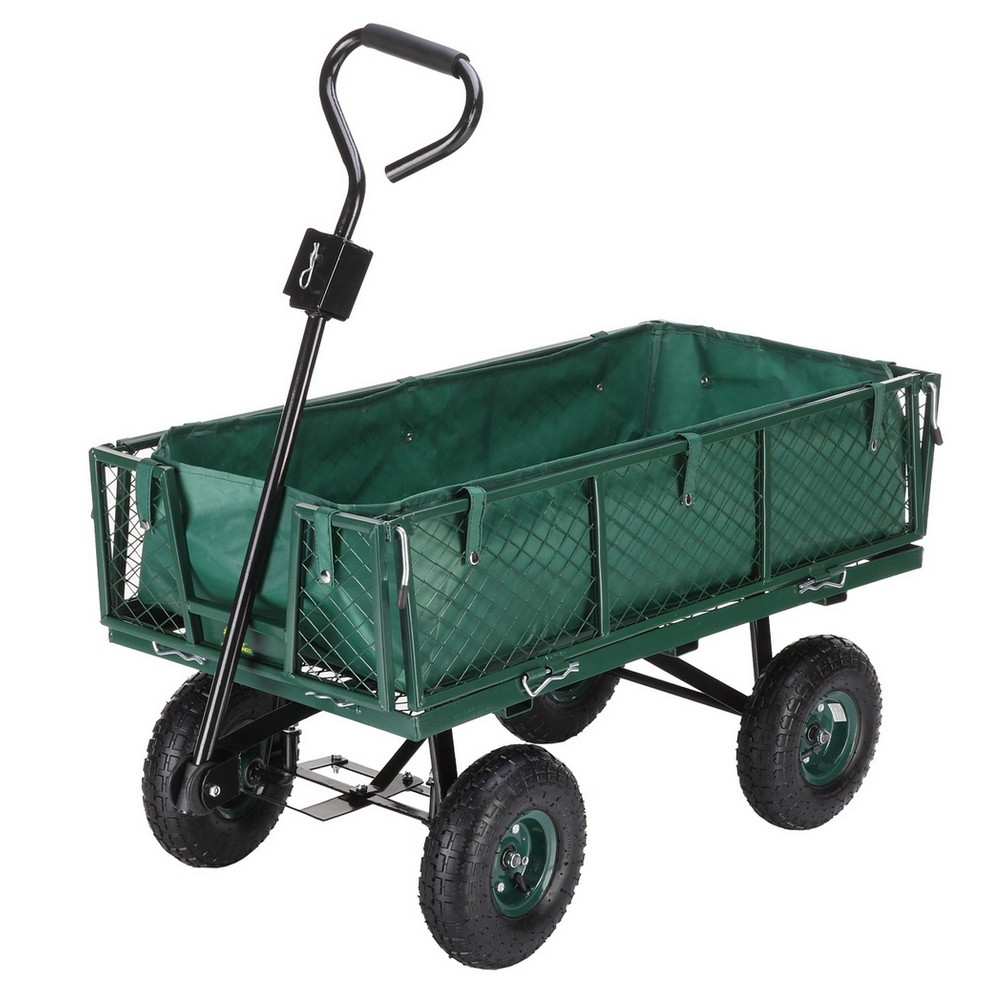 Delicieux Palm Springs Outdoor Heavy Duty Garden Cart /Utility Wagon   600lbs Max  Capacity