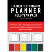 High Performance Planner Full-Year Pack : 6 Planners = 12-Month Supply