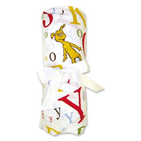 Trend Lab Dr Seuss Fitted Crib Sheet, ABC