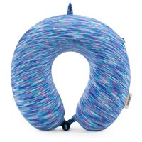 Miami CarryOn Space Dye Memory Foam Travel Pillow/Neck Pillow