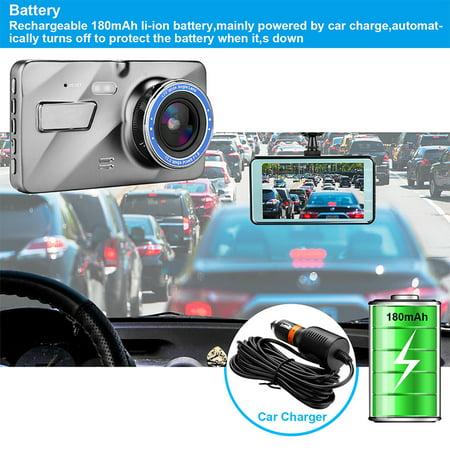 "4"" Vehicle 1080P Car Dashboard DVR Camera Video Recorder G-Sensor Dash Cam - image 4 de 8"
