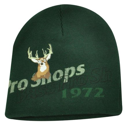 HAT BEANIE SKULLY KNIT BASS PRO SHOPS HUNTING FISHING CAMPING OUTDOOR DEER GREEN Bass Pro Shops Hunting