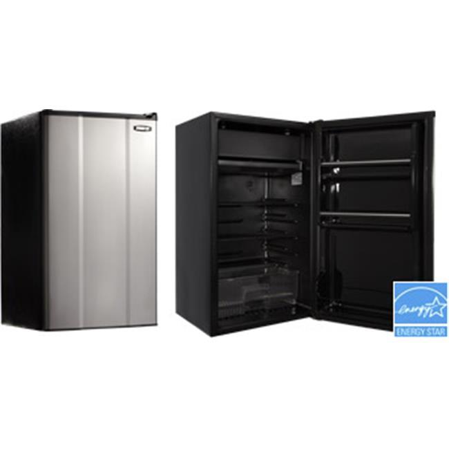 MicroFridge Compact Refrigerator, Stainless Steel - 3.6 cu ft.