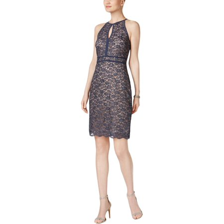 c1565870b2a Nightway - Nightway Womens Lace Sequined Cocktail Dress - Walmart.com