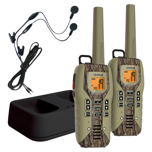Uniden GMR5088-2CKHS 50 Mile FRS/GMRS Submersible Two-Way...