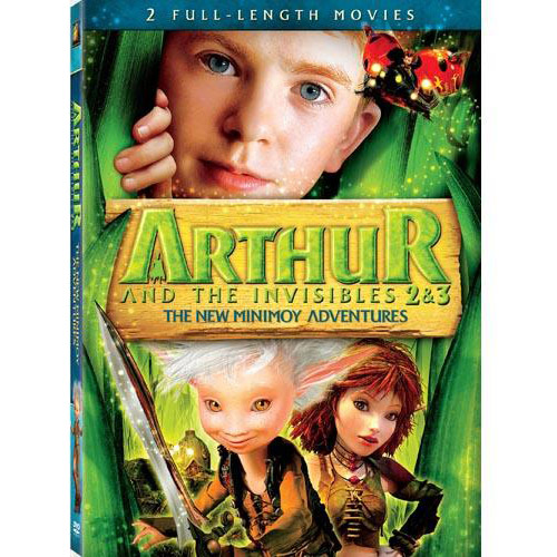 Arthur And The Invisibles 2 & 3: The New Minimoy Adventures (Widescreen)