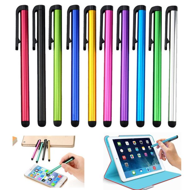 10x universal metal stylus touch screen pen for ipad, iphone, samsung and all touch devices
