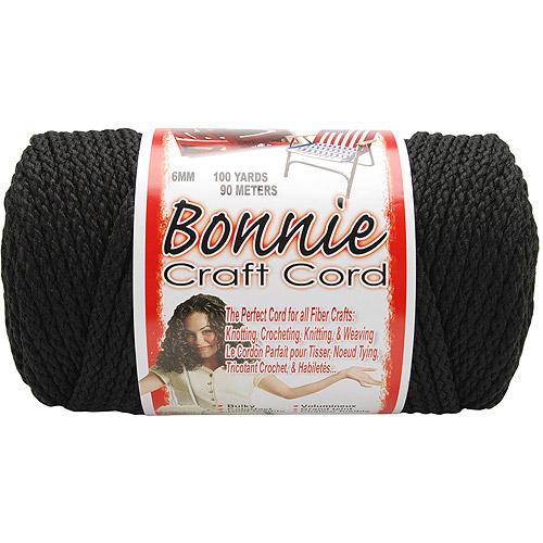 Pepperell Braiding Vibrant Yellow Macrame Braid Craft Cord
