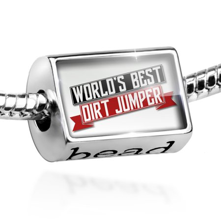 Bead Worlds Best Dirt Jumper Charm Fits All European Bracelets