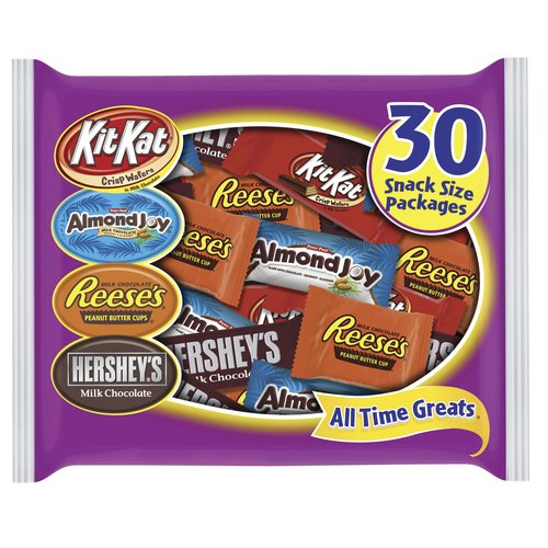 Hershey's All Time Greats Candy Variety Pack, 30 count, 15.9 oz