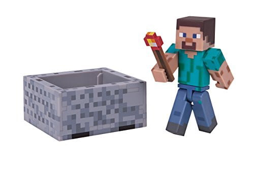 Minecraft Series 3 Wave 1 Steve with Minecraft Pack by Jazwares