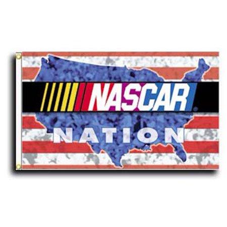 Nascar Nation - 3'X5' General Nascar Polyester Flag