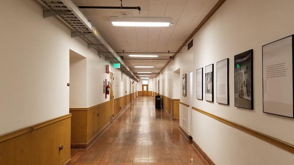 Corridor Interior Hallway Poster Print 24 x 36 by