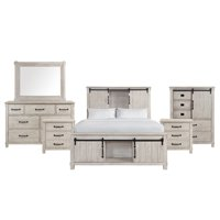 Picket House Furnishings Jack Queen Platform Storage 6PC Bedroom Set