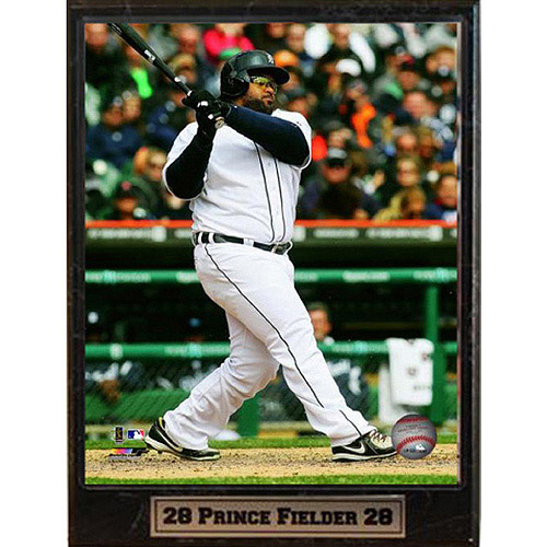 MLB Prince Fielder Photo Plaque, 9x12
