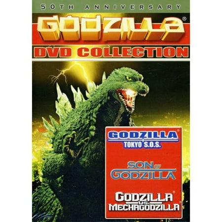 Godzilla 3 Pack  Godzilla  Tokyo S O S    Son Of Godzilla   Godzilla Vs  Mechagodzilla