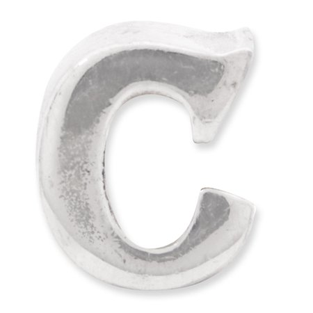 925 Sterling Silver Charm For Bracelet Letter C Bead Alphabet Fine Jewelry Gifts For Women For Her - image 2 de 8