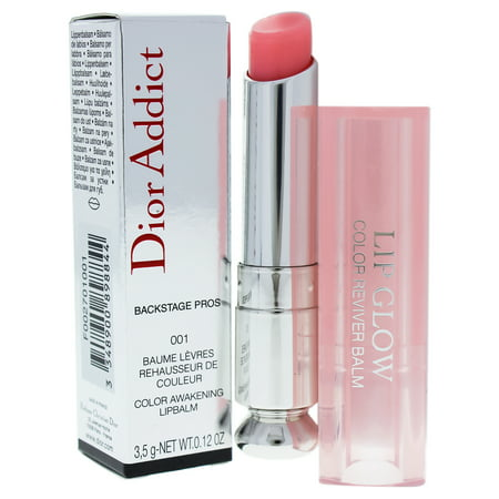 Dior Addict Lip Glow - 001 Pink Glow by Christian Dior for Women - 0.12 oz Lip Balm Dior Addict Ultra Shine