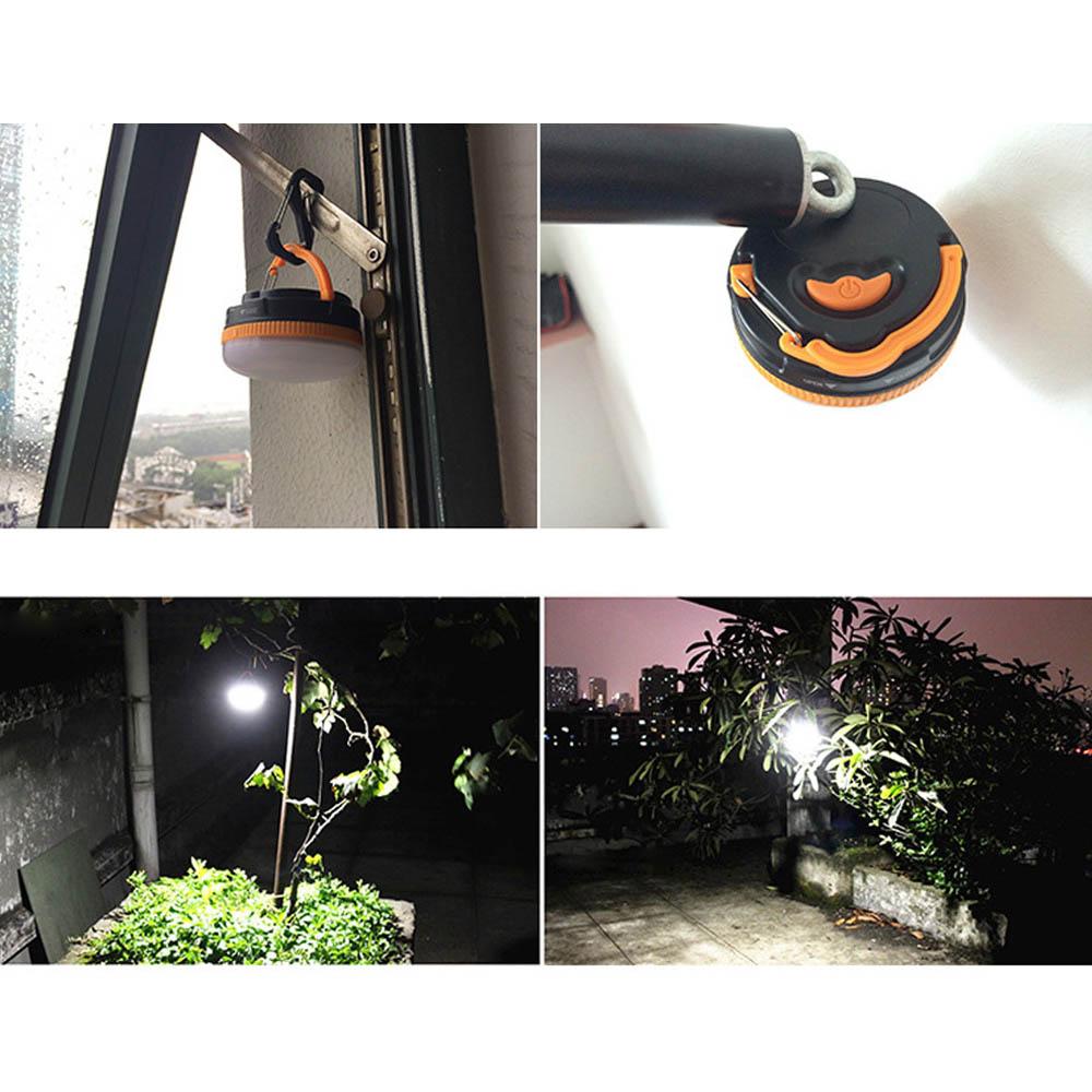 Portable Magnet Hook Lamp Hanger Tent Hooks Camping Light Hanging Light Outdoor