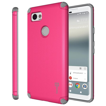 best service c6899 6c2b8 CoverON Google Pixel 2 XL / 2XL Case, Bios Series Slim Modern Hard Phone  Cover with Magnetic Mount compatibility