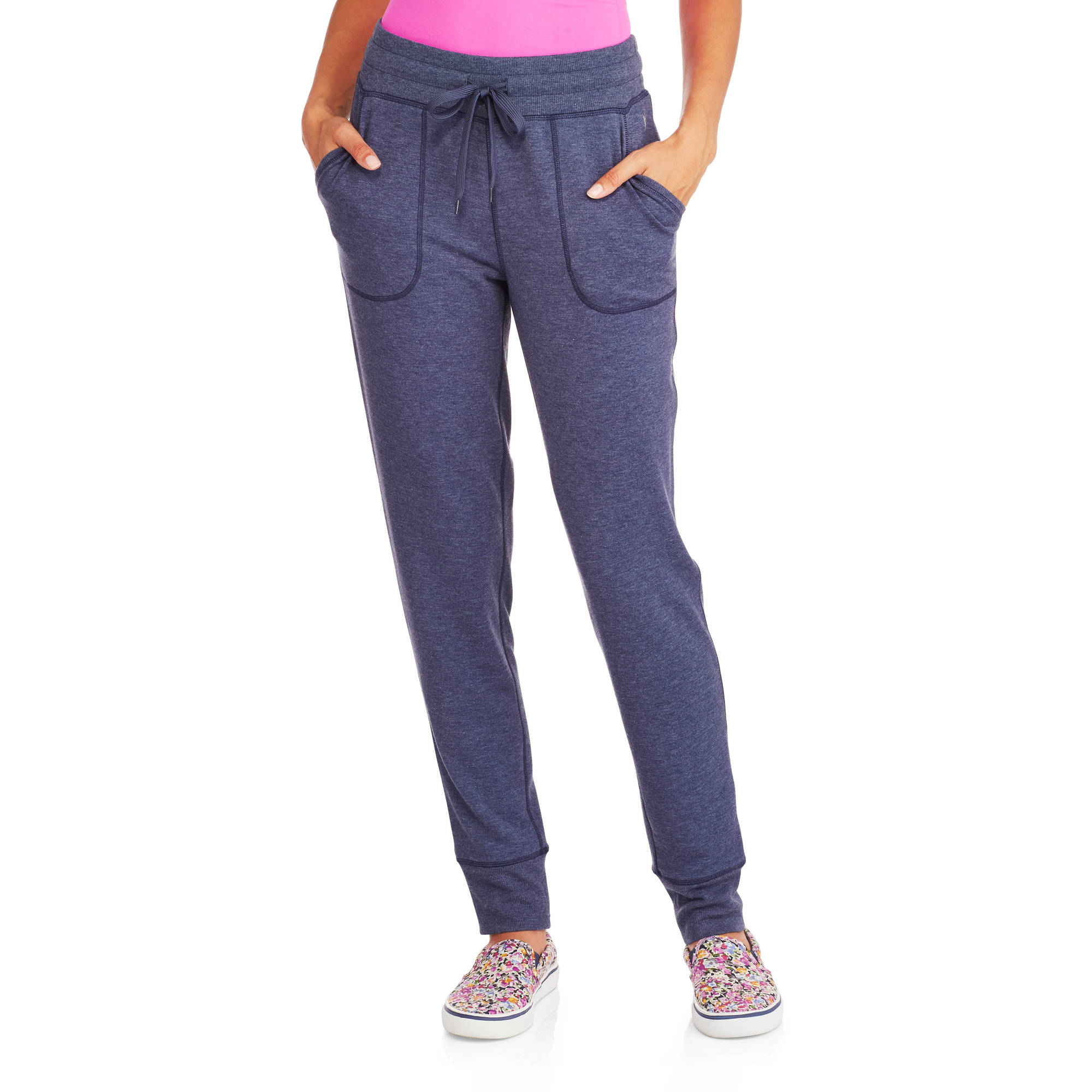 Danskin Now Women's Core Lounge Jogger with Front Pockets